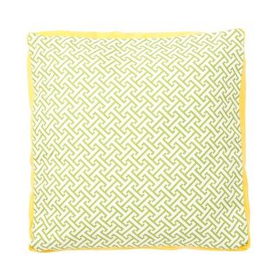 Maze Box Cotton Throw Pillow by Jiti