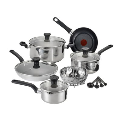 Excite 14 Piece Cookware Set by T-fal