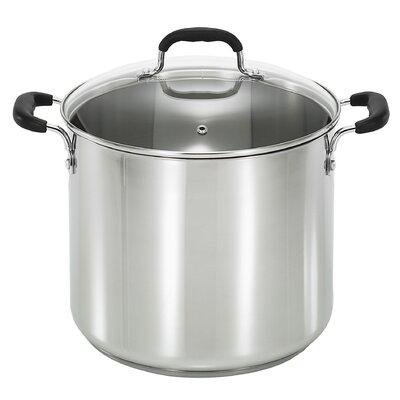 T-fal 12 Qt. Stock Pot with Lid