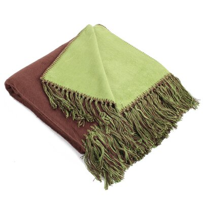 Brushed Bamboo Viscose Throw by Pure Fiber