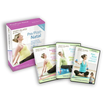 STOTT PILATES Pre / Post-Natal Pilates DVD Set