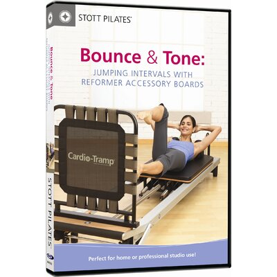 STOTT PILATES Jumping Intervals with Reformer Accessory Boards DVD