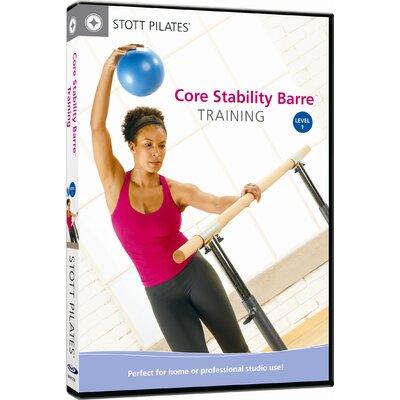 STOTT PILATES Core Stability Barre Training Level 1 DVD