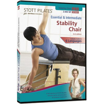 2nd Edition Essential and Intermediate Stability Chair DVD by STOTT PILATES