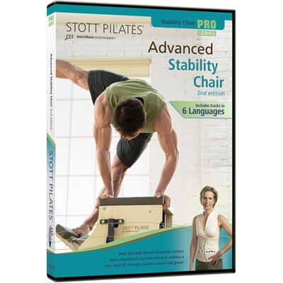 2nd Edition Advanced Stability Chair DVD by STOTT PILATES