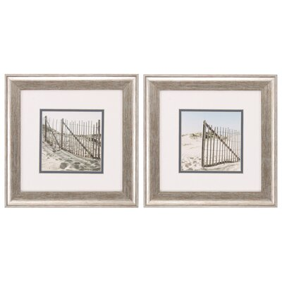 Cone Shells and Fig Framed Print Set by Propac Images