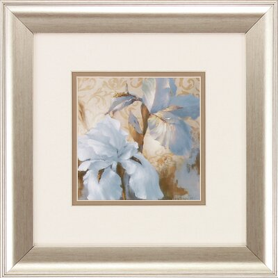 Iris After Rain 2 Piece Framed Painting Print Set by Propac Images