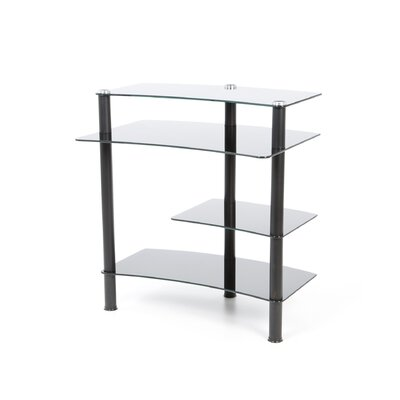 """Tier One Designs 32"""" W Computer Desk with Keyboard Tray"""