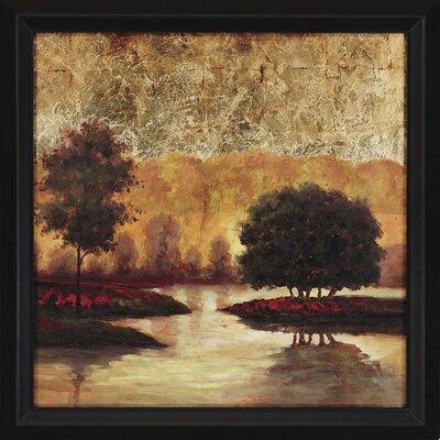 Evening Solitude I Framed Original Painting by Paragon