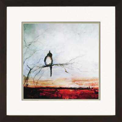 Bird Branch by Sayilir Framed Painting Print by Paragon