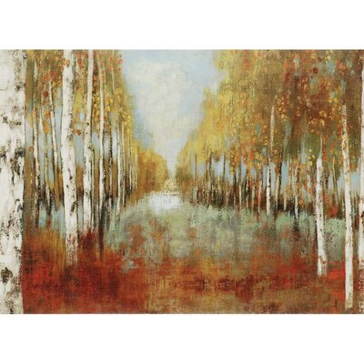 Along the Path by Pearce Printed Wrapped Canvas by Paragon
