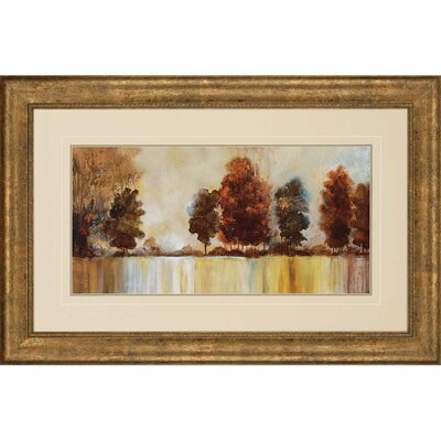 Morning Mist by Tesla Framed Painting Print by Paragon