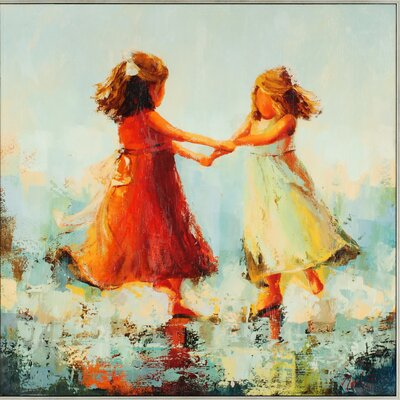 Circle of Two by Nesbit Painting Print on Canvas by Paragon