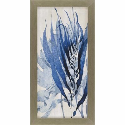Sea Nature I Framed Painting Print by Paragon