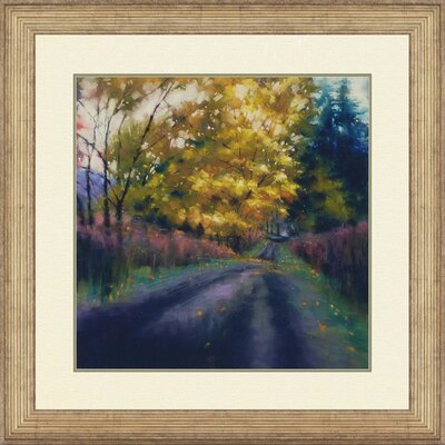 Cypress Solitude II by Tarbeaux Framed Painting Print by Paragon