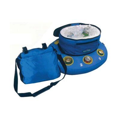 Heritage Pools Float A Bout the Stowable Floating Heavy Duty Cooler