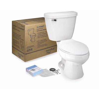 Summit 3 SmartPak Front Complete Round 2 Piece Toilet Product Photo