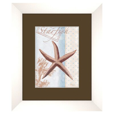 PTM Images Beach B Framed Graphic Art