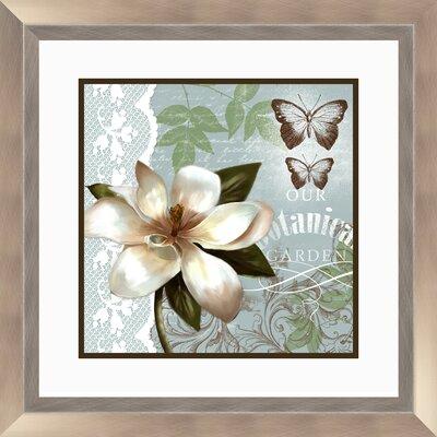 PTM Images Botanical 2 Piece Garden Framed Graphic Art