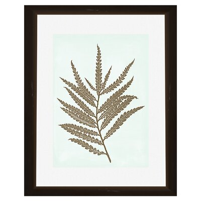 PTM Images 2 Piece Leaves Silhoutte Framed Graphic Art Set