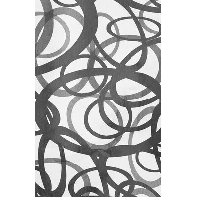 Overlayed Circles Graphic Art on Wrapped Canvas by PTM Images