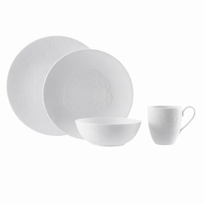 Marchesa by Lenox Marchesa Rose 4 Piece Place Setting
