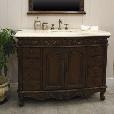 """Global Treasures Wakefield 48"""" Single Bathroom Vanity Set"""