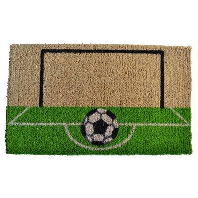 Imports Decor Creel Soccer Field Doormat