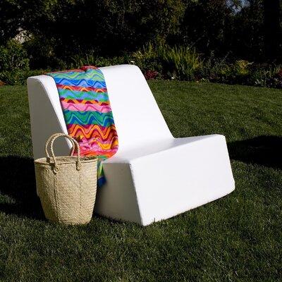 La-Fete Check Armless Lounge Chair