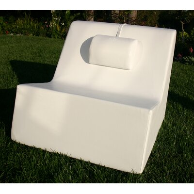 La-Fete Armless Lounge Chair with Massage Pillow