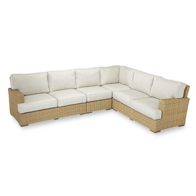 Leucadia Sectional with Cushions by Sunset West