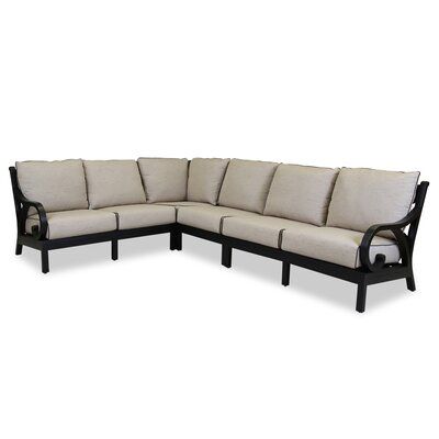 Monterey Sectional with Self Welt Cushions by Sunset West