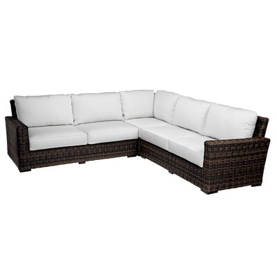 Montecito Sectional with Cushions by Sunset West