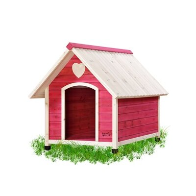 The Pet Squeak Doggy Den Dog House looks cute and is ideal for a pet. It is ideal to place at any corner of your home.