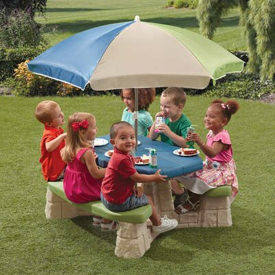 Naturally Playful Kids Rectangle Picnic Table by Step2