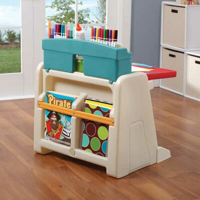 Step2 Flip And Doodle Easel Desk With Stool Amp Reviews