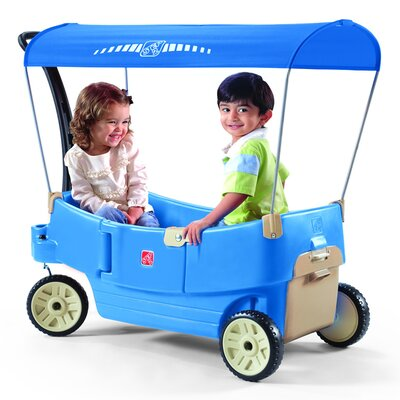 All Around Canopy Wagon Push Ride-On by Step2