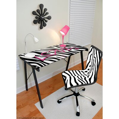 LumiSource Zebra Love Expression Sigma Writing Desk