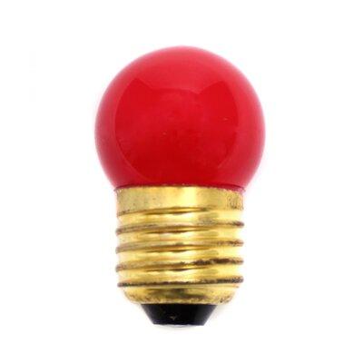 LumiSource 40W Red Halogen Light Bulb