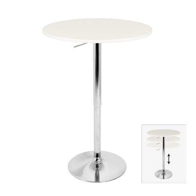 LumiSource Elia Adjustable Height Pub Table