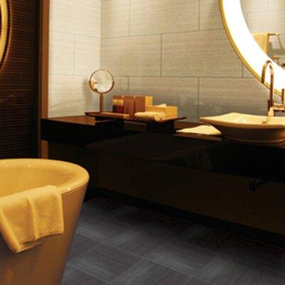 Daltile Fabrique 6'' x 24'' Porcelain Field Tile in Crème Linen