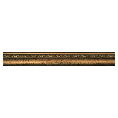 """Daltile Metal Signatures Chateau Ogee 12"""" x 1-1/2"""" Liner in Aged Bronze"""