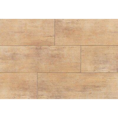 Timber Glen 4'' x 24'' Porcelain Wood Tile in Hickory by Daltile