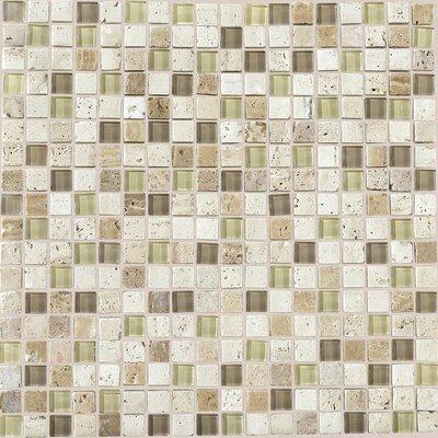 Daltile stone radiance x slate mosaic in for Mosaic bathroom bin