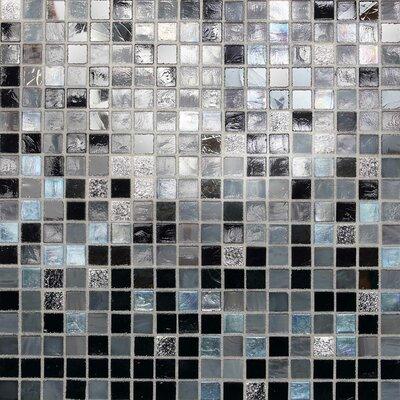 "Daltile City Lights 0.5"" x 0.5"" Glass Mosaic Tile in Manhattan"