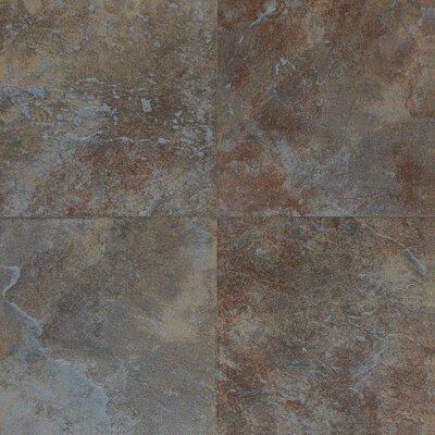 Daltile Continental Slate 12'' x 12'' Porcelain Field Tile in Tuscan Blue