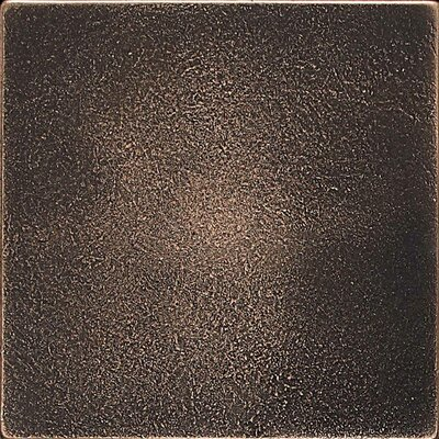Ion 4.25'' x 4.25'' Metal Field Tile in Antique Bronze Product Photo