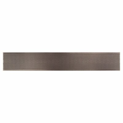 "Daltile Urban Metals 12"" x 2"" Spiral Decorative Border Tile in Bronze"
