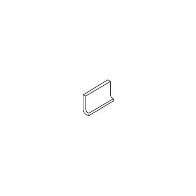 """Daltile Rittenhouse Square 6"""" x 3"""" Cove Base Tile Trim in White"""