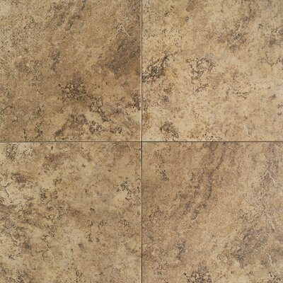 "Daltile Travata 13"" x 13"" Porcelain Field Tile in Caramel Haze"